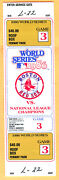 Popular Full Ticket 1986 World Series Game 3-mets/red Sox