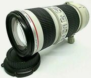 Canon Ef 70-200mm F4 L Is Usm Telephoto Zoom Af Auto Focus Lens From Japan