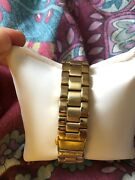 Lacoste Watch Gold Needs New Battery Just Needs Taking To A Watch Shop.was Andpound250