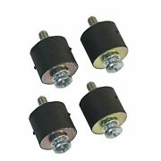 Msd 8823 Rubber Vibration Mounts For 5 And 6 Series Ignition Boxes - Set Of 4