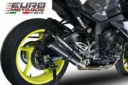 Yamaha Mt10 Fz10 2017-2019 Gpr Exhaust Mid System Silencer Gpe Cf + Decat Pipe