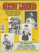 Boxing Legends Mag Floyd Patterson George Foreman-rocky Graziano-carmen Basilio