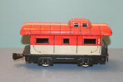 Vintage O Scale Marx New York Central Railroad Tin Litho Caboose 20102 Nyc 2