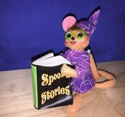 Rare Spooky Stories Mouse Harry Potter Spell Book Annalee Dolls 5 ▬ 2011 ▬ ❤️