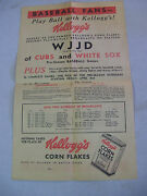 1940and039s Chicago Cubs And St. Browns Schedules