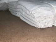 1500 Pieces New White Shop Towels Rags Industrial 18x30