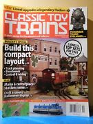 Classic Toy Trains 2011 October Compact Layout Lionels 1961 Sets Station Scene