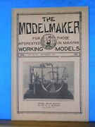 Modelmaker Magazine 1931 October Model 42 Foot Flat Cars, On The Pull And Go Div