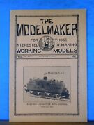 Modelmaker Magazine 1932 November Control Systems For Model Railroads By Walther