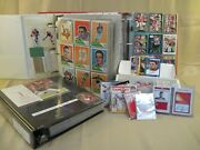 Huge Vintage Kansas City Chiefs Football Card Collection 1960-2015 Must See