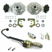 Mustang Ii Front Power Disc Brake Kit 1955 1956 1957 Chevrolet Muscle Cars