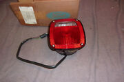 Ford 84 87 Cab And Chassis/flat Bed Tail Lamp With Lic Lamp Lh Orig. Ford Nos