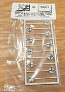 Tichy Train Group Ho Scale 8309 Crossing Warning Sign 1900 - 1930 10pcs