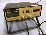 Simpson Micro-ohmmeter 444 Micro Ohmmeter W/probes Recent Calibration