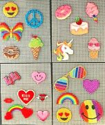 Decorate Anything With Stickon/ironon Embroidered Patch Sets