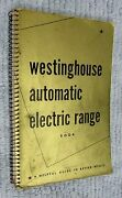 Westinghouse Automatic Electric Kitchen Range Vintage Stove Recipe Book Free S/h