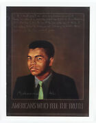 2003 Muhammad Ali Americans Who Tell The Truth 18x 24 Poster
