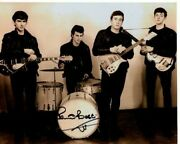 Pete Best Signed Autographed The Beatles Photo