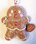 Gingerbread Ornament Ginger Spice Cookie Hot In The Oven Dept 56 Enesco 3