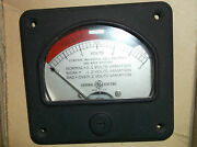 Very Nice Ge General Electric Model 50vdw2 0-3 Vdc Panel Meter-new Dynaco Bias