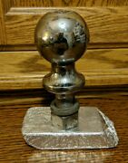 Valley 2 Inch Trailer Hitch Ball 3500 Lbs V5 Usa Made 1 3/4 Inch Shaft