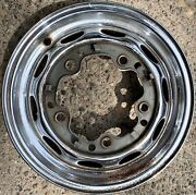 Porsche 356 356a 356b Lemmerz 12/60 4 1/2x15 Chrome Wheel 1960 1961 Dl