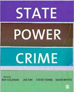 State Power Crime By Roy Coleman English Paperback Book Free Shipping