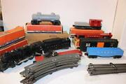 Lionel Post-war Set 1607ws- 2037 Steam Freight Set- Boxed- Set Boxed