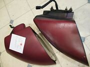Gently/used 1993-02 Camaro Power Mirror Set Clean W/nice Glass Red In Color