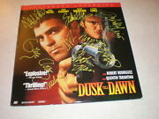 From Dusk Till Dawn Laser Disc Autographed