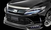 Admiration Ricercato Front Half Spoiler For Toyota Harrier Xu60/65 Painted