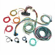12v 24 Circuit 15 Fuse Street Hot Rat Rod Wiring Harness Wire Kit Complete