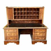 Antique French Bronze Mounted Kingwood Hotel Writing Desk W Tambour Doors