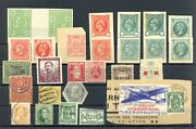 Belgium 27 Stamps Revnues/ Poster Stamp/ Back Of The Book --f/vf @2