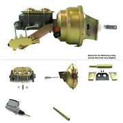 1960-62 Chevy Truck Manual Trans Fw Mount Power 11 Single Booster Kit Drum/drum