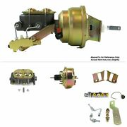 1958-64 Chevy Bel Air Fw Mount Pwr 7 Single Brake Booster Kit Disc/disc Ls3 Ls6