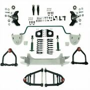 Mustang Ii 2 Ifs Front End Kit For 32-48 Packard Stage 2 Standard Spindle Pro