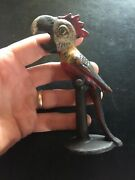 Parrot Cast Iron Beer Bottle Opener Bbq Patina Soda Solid Metal Man Cave Gift Nr
