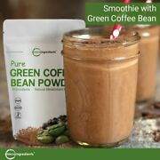 Natural Green Coffee Bean Extract Powder Powerfully Supports Energy And Metabolism