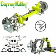 37-41 Chevy Car Cornerkiller Ifs Coil Over Stock 6x5.5 Manual Lhd Rack Retro