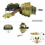 1964-72 Chevy Chevelle Fw Mount Pwr 11 Dual Brake Booster Kit Disc/drum Stop