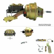 1964-72 Chevy Chevelle Fw Mount Pwr 8 Dual Brake Booster Kit Disc/disc Stop V8