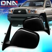 For 2005-2011 Toyota Tacoma Pair Oe Style Power Side Door Mirror Set Replacement