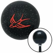 Red Swallow Black Metal Flake Shift Knob With M16 X 1.5 Insert Component