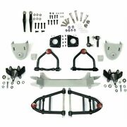 Mustang Ii 2 Ifs Front End Kit For 1932 - 1948 Dodge W 2 In Drop Spindles Pro