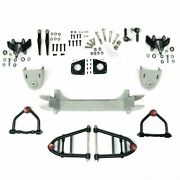 Mustang Ii 2 Ifs Front End Kit For 1939 - 1956 Mercury W 2 In Drop Spindles V8