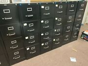 9 Black 4 Drawer Metal Filing Cabinets From Staples. Locking Letter Sized.andnbsp