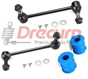 4pc Front Sway Bar Link Bushing Kit For 300 Challenger Charger 1.06/27mm Bar