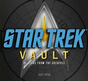 Star Trek Vault 40 Years From The Archives By Scott Tipton Book The Fast Free