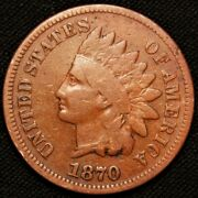 1870 Indian Head Penny